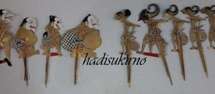 Wayang Pandawa-Punokawan Mini